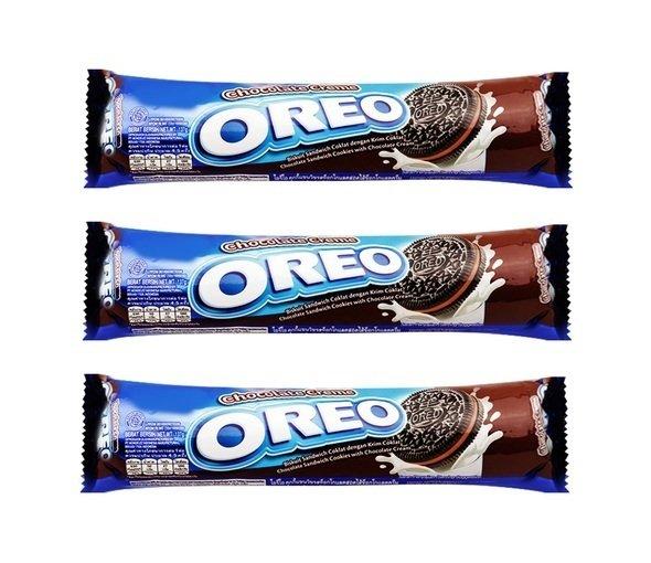 Bảng Giá Bộ 3 gói bánh quy nhân kem sô cô la Oreo 137g