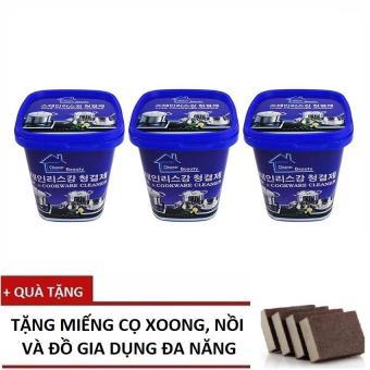 Bộ 3 hộp Kem đa năng tẩy xoong nồi và đồ gia dụng Hàn Quốc+ Tặng Miếng cọ đa năng - 8353836 , NO007WNAA35R4VVNAMZ-5514418 , 224_NO007WNAA35R4VVNAMZ-5514418 , 199000 , Bo-3-hop-Kem-da-nang-tay-xoong-noi-va-do-gia-dung-Han-Quoc-Tang-Mieng-co-da-nang-224_NO007WNAA35R4VVNAMZ-5514418 , lazada.vn , Bộ 3 hộp Kem đa năng tẩy xoong nồi và đồ