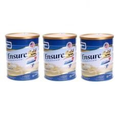Bộ 3 hộp sữa Ensure Gold Vani 850g