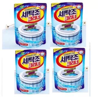 Bộ 4 gói bột vệ sinh tẩy lồng máy giặt Hàn Quốc 450Gr - 8659750 , OE680WNAA3PGDZVNAMZ-6601532 , 224_OE680WNAA3PGDZVNAMZ-6601532 , 180700 , Bo-4-goi-bot-ve-sinh-tay-long-may-giat-Han-Quoc-450Gr-224_OE680WNAA3PGDZVNAMZ-6601532 , lazada.vn , Bộ 4 gói bột vệ sinh tẩy lồng máy giặt Hàn Quốc 450Gr