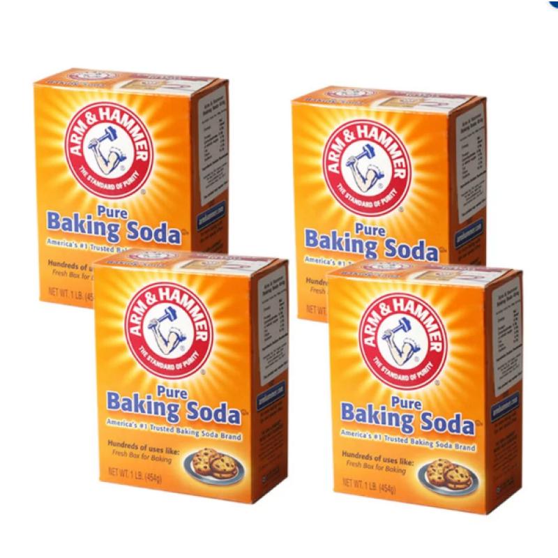Bảng giá Bộ 4 hộp bột Baking Soda đa công dụng 454g