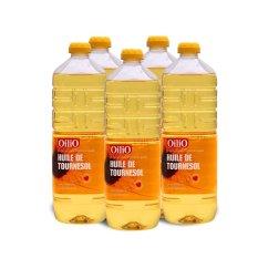 Trang bán Bộ 5 chai dầu hướng dương OilIO 1L