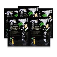 Bộ 5 gói kẹo hắc sâm Daedong 250g