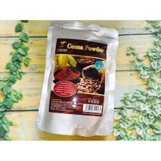 Bột ca cao nguyên chất 100% giảm cân cacao Figo 250gram