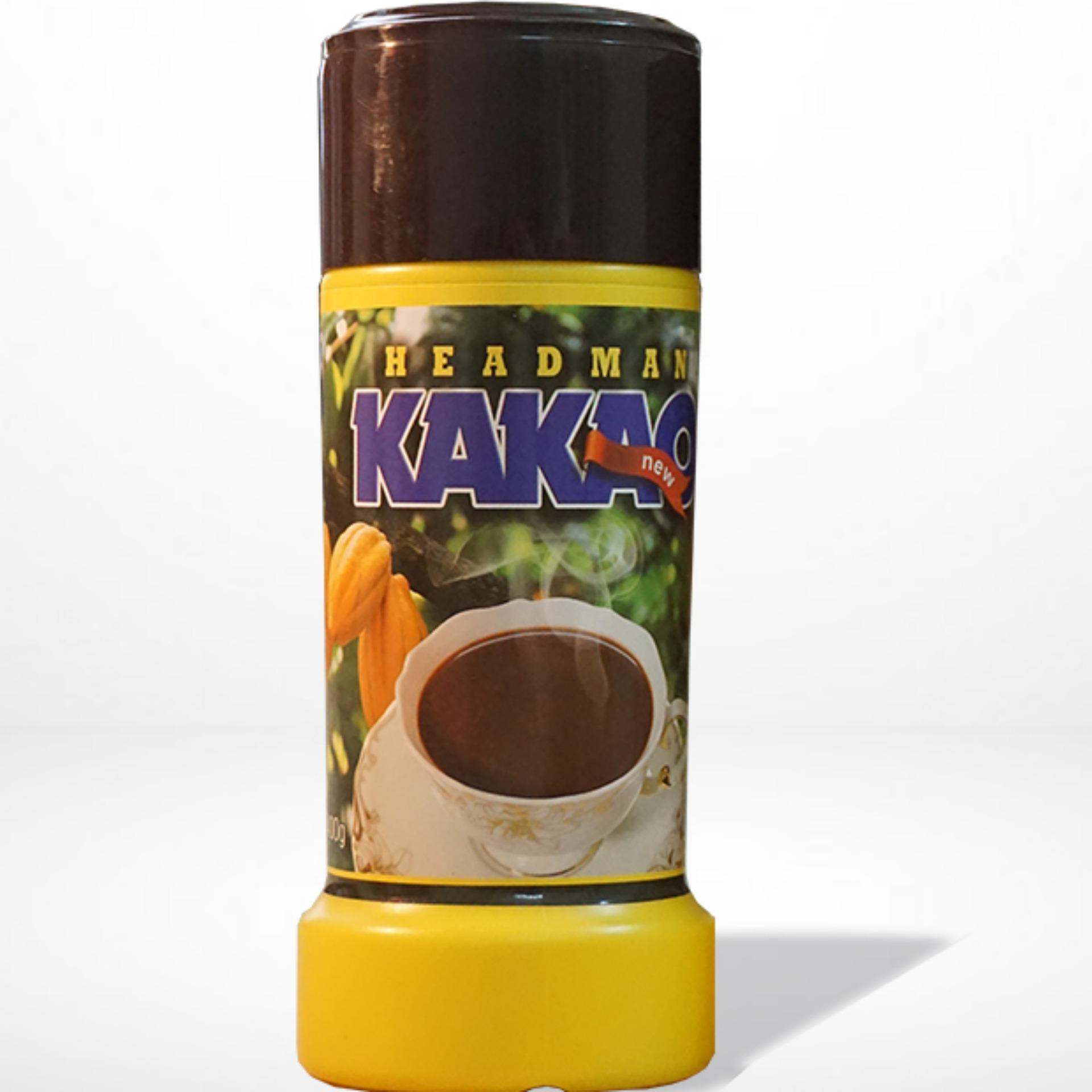 Bảng Giá Bột cacao Headman ( 2 in 1 )Hộp Nhựa 400 gr