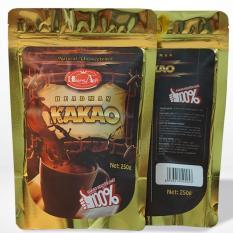 Bột Cacao Headman Nguyên chất túi zipper 250Gr ( Bộ 2 sản phẩm)