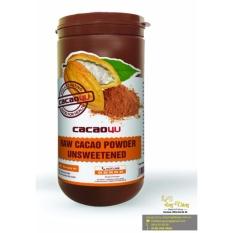 Bột cacao nguyên chất – Cacao4u hũ 440gr