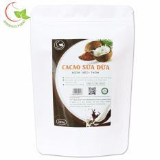 Bột cacao sữa dừa hòa tan Green D Food – gói 250g