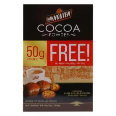 Bột Cacao VanHouten Tự Nhiên Không Đường (350+50g)