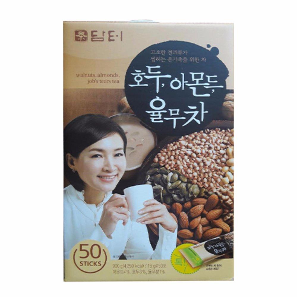 Bột Dinh Dưỡng Ngũ Cốc Hạt Óc Chó Hạnh Nhân Hàn Quốc Damtuh (18g X50 Gói)