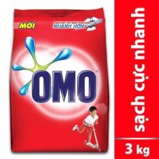 Bột Giặt Omo Sạch Cực Nhanh 3kg (Đỏ)
