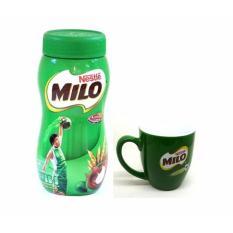 Bột Milo Nestle Activ-Go lúa mạch hộp 400g(tặng ly sứ cao cấp)