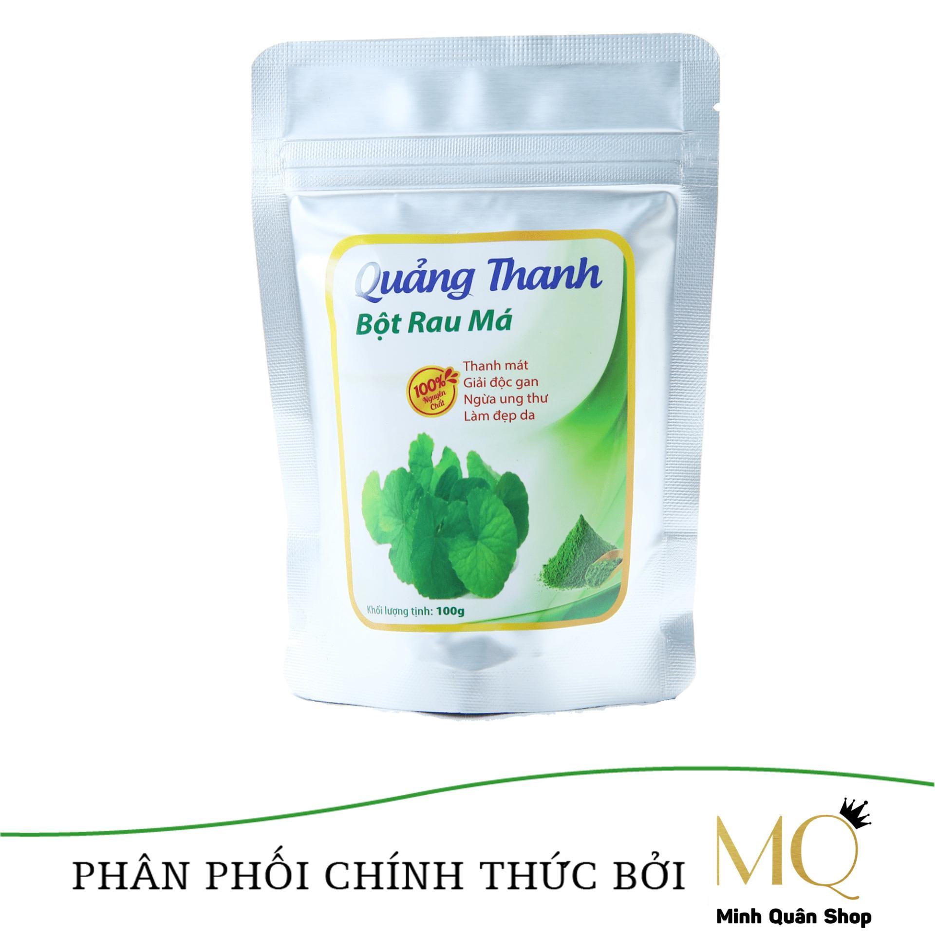 Nơi Bán Bột rau má sấy lạnh Quảng Thanh đảm bảo VSATTP 100gram/túi