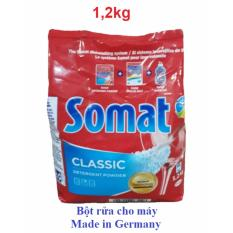 Bột SOMAT 1,2kg NK Đức cho máy rửa chén bát