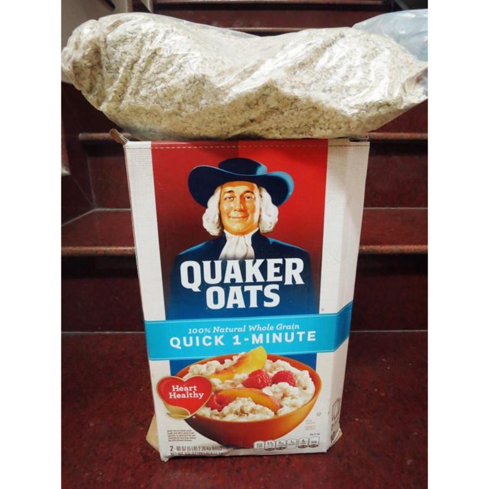 Bột Yến Mạch Quaker Oats Quick 1 Minute – 4kg5