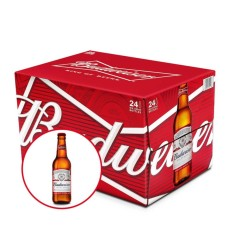 Budweiser chai 330ml – Thùng 24