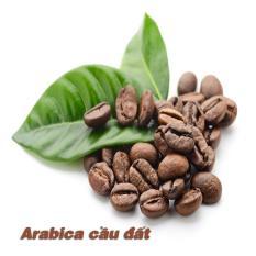 Cà Phê Arabica Cầu Đất Hạt Rang Nguyên Chất 100% (mộc)