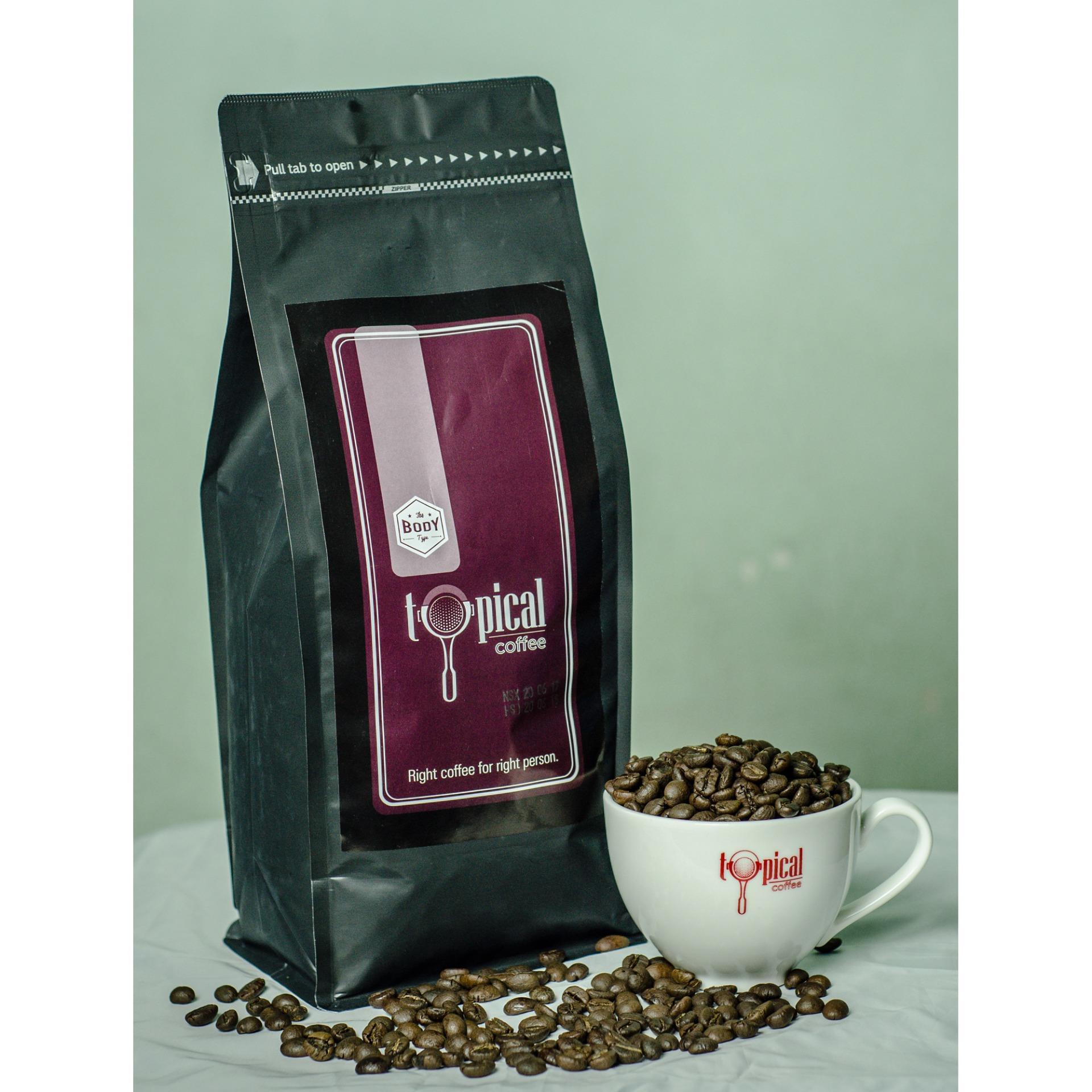 Giá Niêm Yết Cà phê hạt espresso Typical Coffee Body 1kg