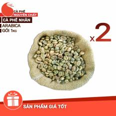 Cà phê nhân Robusta loại 1 – Light Coffee – 2kg (2 gói)