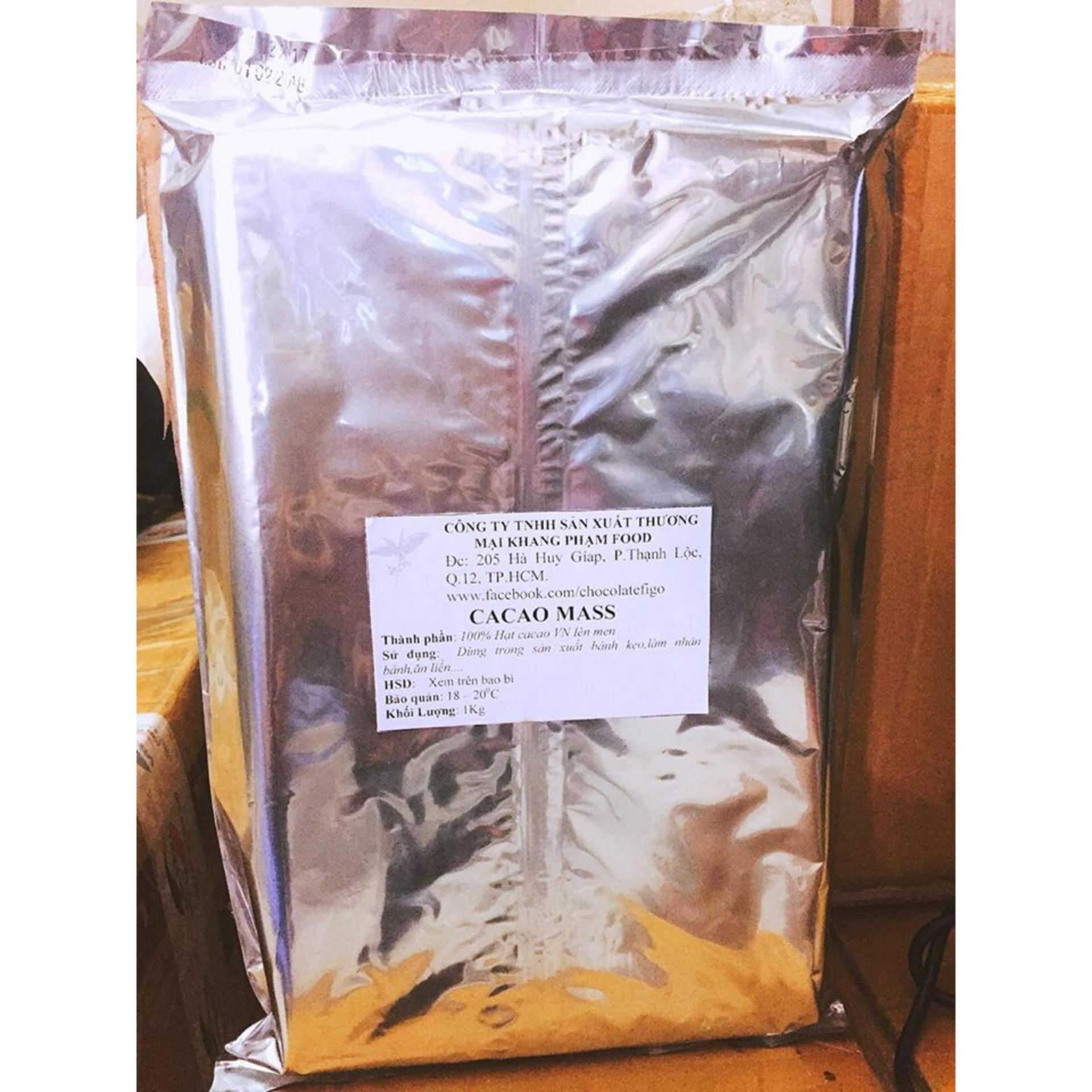 Bảng Giá Cacao Mass 100% cacao Figo 500gram