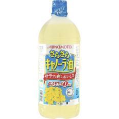 Chai dầu hoa cải Ajinomoto Nhật Bản