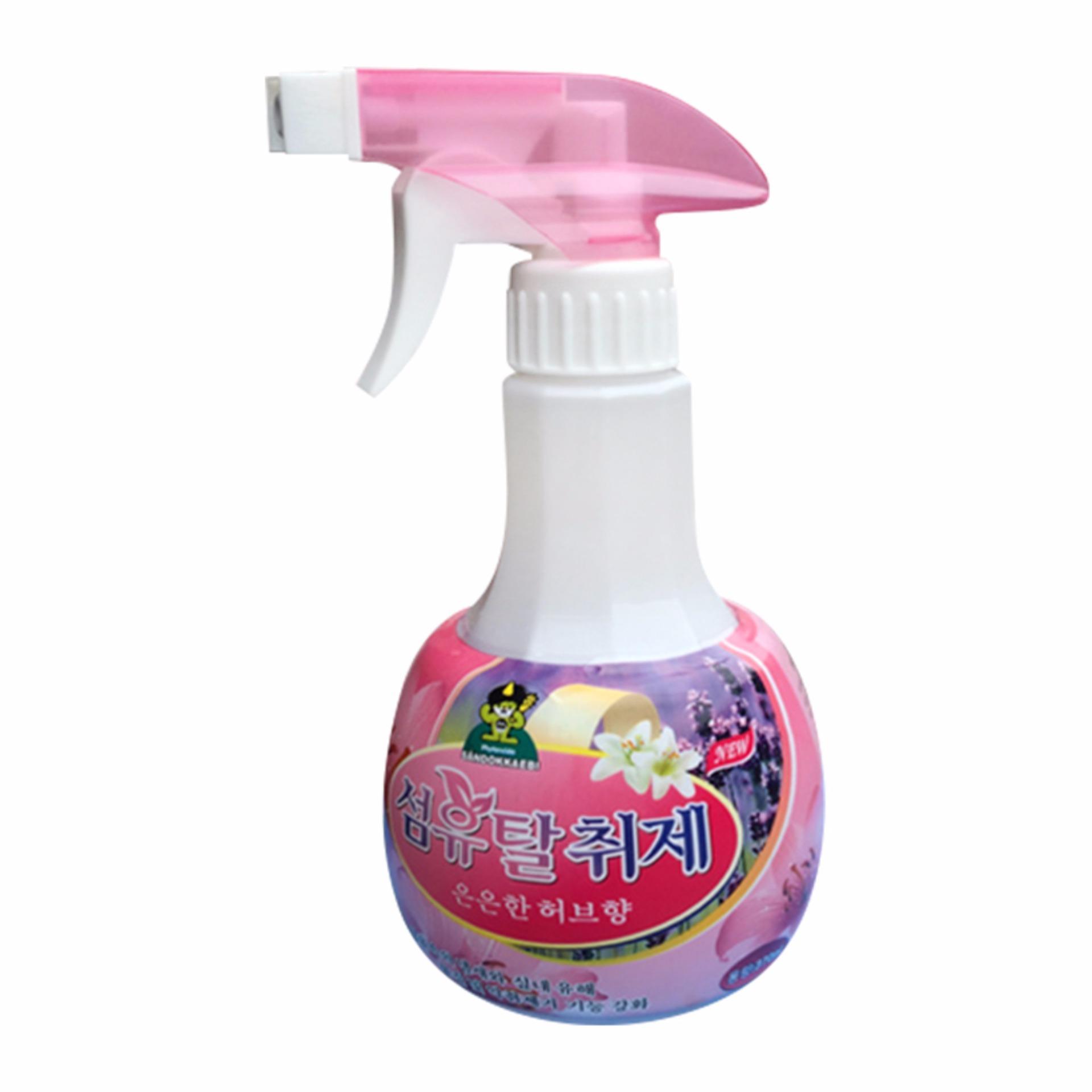 Đánh Giá Chai xịt khử mùi đa năng Hàn Quốc 370Ml (Hương thảo mộc)
