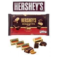 Chocolate đắng hạnh nhân Hershey Nuggets 299gr Mỹ