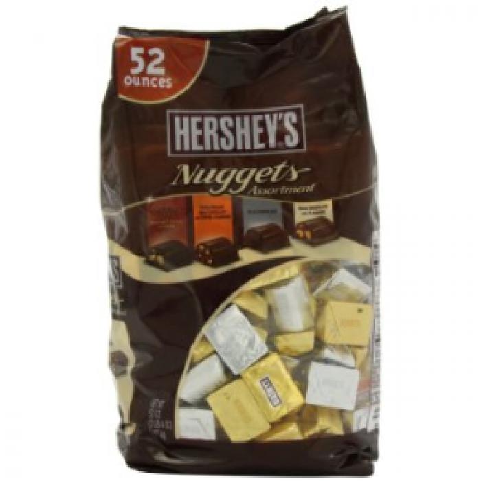 Giá bán Chocolate Hershey's Nuggets Assortment 1.47kg gồm 145 viên