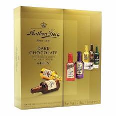 Socola rượu Anthon Berg Dark Chocolate 64 chai ĐAN MẠCH