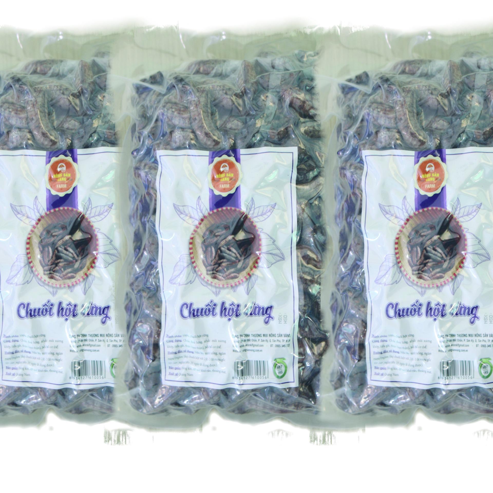 Nơi nào bán Chuối Hột Rừng Sấy Khô 3kg