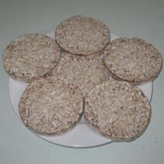 Com bo 3 gói Bánh gạo lứt nguyên hạt