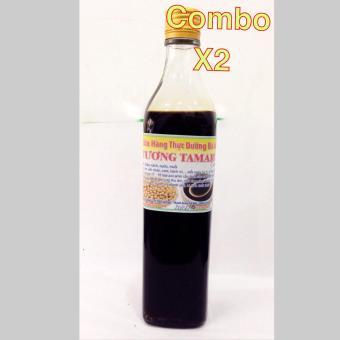 Combo 2 chai Tương tamari 5 năm thải độc gan