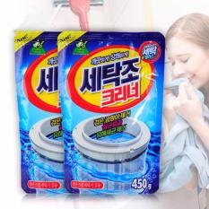 Combo 2 gói bột tẩy lồng máy giặt 450 gram