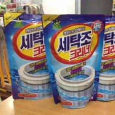 Combo 2 gói bột tẩy vệ sinh lồng máy giặt 450g cao cấp Cool Mark + [Tặng bộ 5 móc dán tường treo đồ siêu tiện dụng]