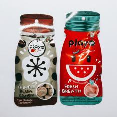 Combo 2 gói kẹo play Thái Lan (bạc hà dưa hấu , xí muội)
