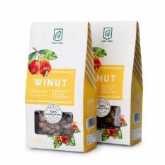 Combo 2 hạt điều rang muối bóc vỏ lụa Winut 200gr