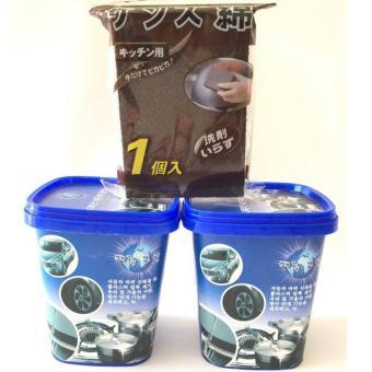Combo 2 hộp kem tẩy rửa đa năng,tặng dụng cụ cọ nồi siêu sạch