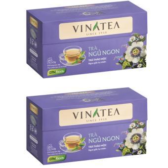 Combo 2 hộp trà Vinatea ngủ ngon túi lọc