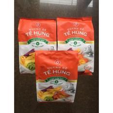 Combo 3 bịch trái cây sấy thập cẩm Tề Hùng ( gói 500gr)