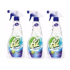 Combo 3 chai Dung Dịch Diệt Khuẩn Khử Mùi Green Cross A2 500ml (Hương Tươi Mát)