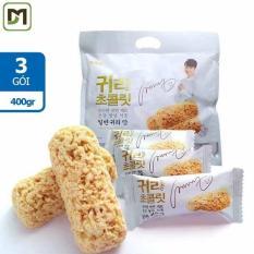 Combo 3 gói x 400gr Bánh Yến Mạch Hàn Quốc