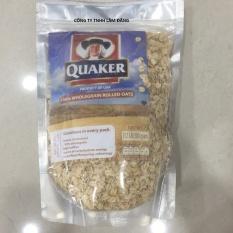 Combo 3 Gói: Yến mạch cán dẹt nguyên chất Quaker Oats Old Fashioned 500Gr (Hàng nhập Mỹ)
