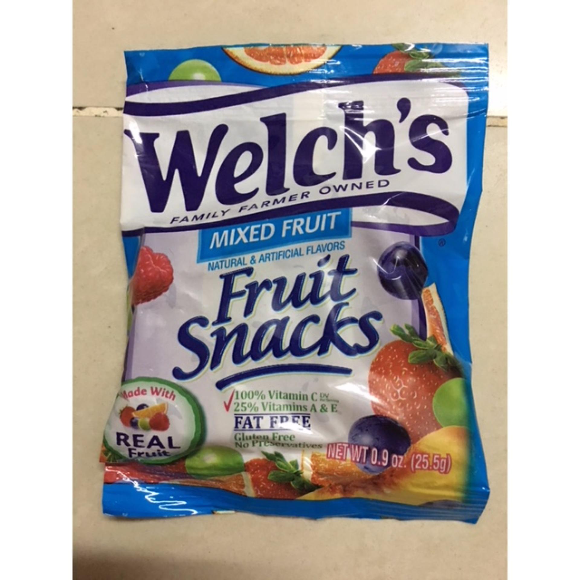 Cập Nhật Giá combo 5 goi Kẹo Dẻo Welch's Fruit Snacks Mỹ 25,5g