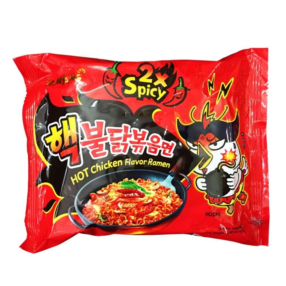 Mẫu sản phẩm Combo 5 Gói Mì Siêu Cay SamYang 2x Spicy Hàn Quốc 140g