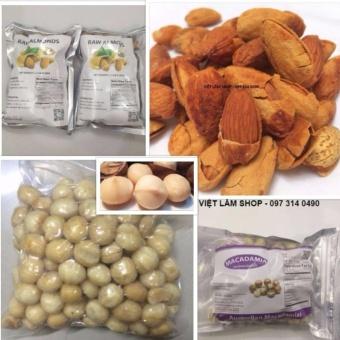 Combo 7 - Nhân hạt mắc ca Macadamia 500g (Loại đặc biệt - Nhập Úc)& Hạnh nhân rang bơ California 500g (Loại mỏng vỏ -Nhập Mỹ ) - 8256990 , MA103WNAA67IJAVNAMZ-11455140 , 224_MA103WNAA67IJAVNAMZ-11455140 , 5810000 , Combo-7-Nhan-hat-mac-ca-Macadamia-500g-Loai-dac-biet-Nhap-Uc-Hanh-nhan-rang-bo-California-500g-Loai-mong-vo-Nhap-My--224_MA103WNAA67IJAVNAMZ-11455140 , lazada.vn ,