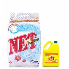Giá Sốc [COMBO] Bột Giặt Net Extra 6kg tặng Nước rửa chén 1,5kg