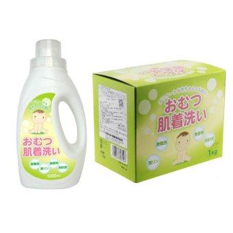 Combo bột giặt và nước giặt chuyên dụng cho trẻ sơ sinh
