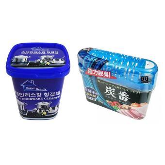 Combo Kem đa năng tẩy rửa nhà bếp, nhà tắm + Khử mùi, diệt khuẩn tủ lạnh Nhật Bản - 8226555 , KO055WNAA35P6AVNAMZ-5511428 , 224_KO055WNAA35P6AVNAMZ-5511428 , 129000 , Combo-Kem-da-nang-tay-rua-nha-bep-nha-tam-Khu-mui-diet-khuan-tu-lanh-Nhat-Ban-224_KO055WNAA35P6AVNAMZ-5511428 , lazada.vn , Combo Kem đa năng tẩy rửa nhà bếp, nhà tắm