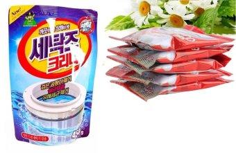 Combo Túi bột thông tắc bồn cầu siêu mạnh + Gói bột tẩy vệ sinhlồng máy giặt, khử mùi, diệt khuẩn