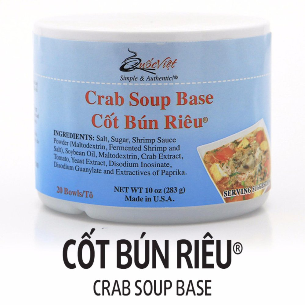 Cốt Bún Riêu ® Quốc Việt Foods (283g)